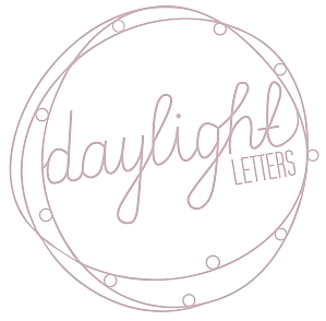 Daylight Letters